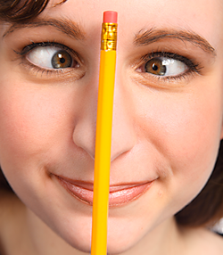 Teachers - Don't Let Pencils Get You Cross Eyed!