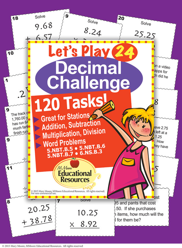 Decimals-math-Game-Decimals-Stations
