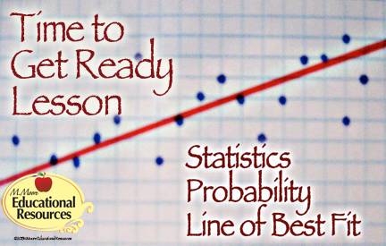 Statistics, Probability, Line of Best Fit